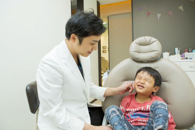 歯科医院を怖がるお子さんへの配慮